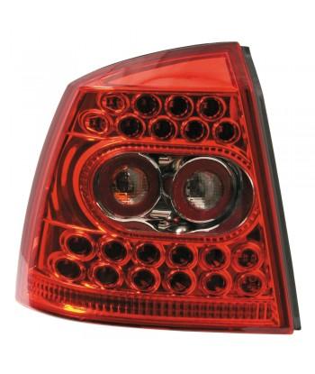 Coppia fanali posteriori LED -  Opel Astra G (2/98-3/04) - Rosso