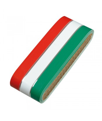 Sticky Flag, striscia tricolore Italia in rotolo - 5x500 cm