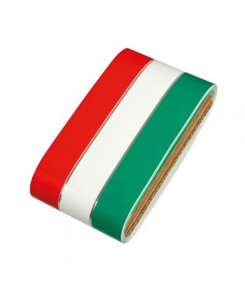 Sticky Flag, striscia tricolore Italia in rotolo - 8x500 cm