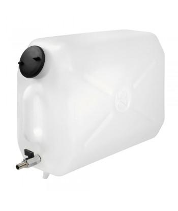 Tanica in plastica, con rubinetto in metallo - 25 L