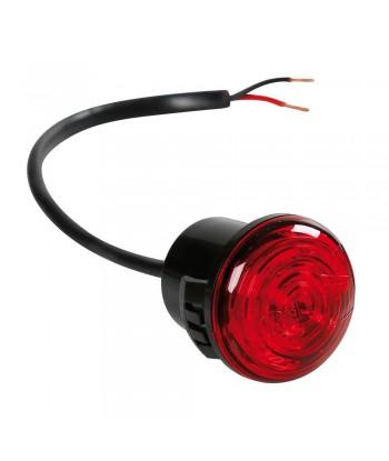 Luce perimetrale da incasso a 1 led, 12/24V - Rosso